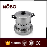 Cookware Sets Type and Stainless steel Material alcohol stove
