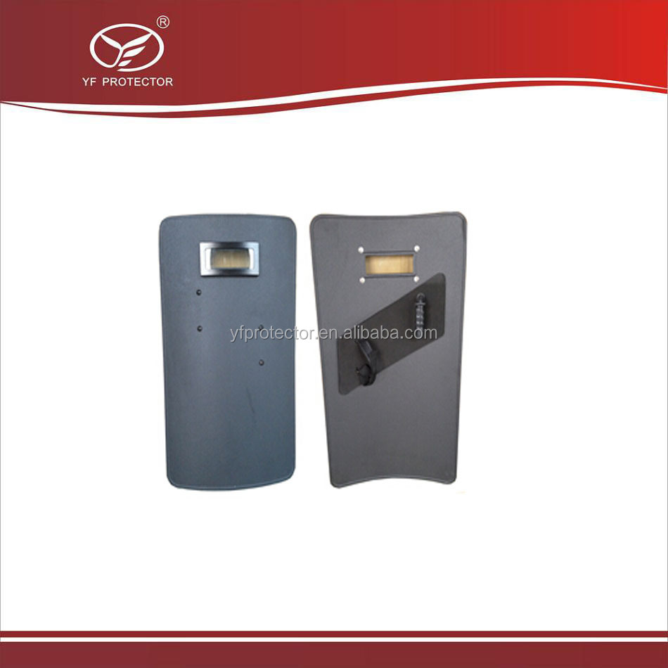 Ballistic shield with window