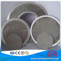 Fine Mesh Extruder Screen Filter Wire Mesh