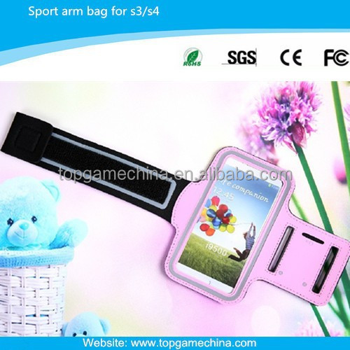 PVC Waterproof arm bag for samsung galaxy S/3/S4 mobile phone