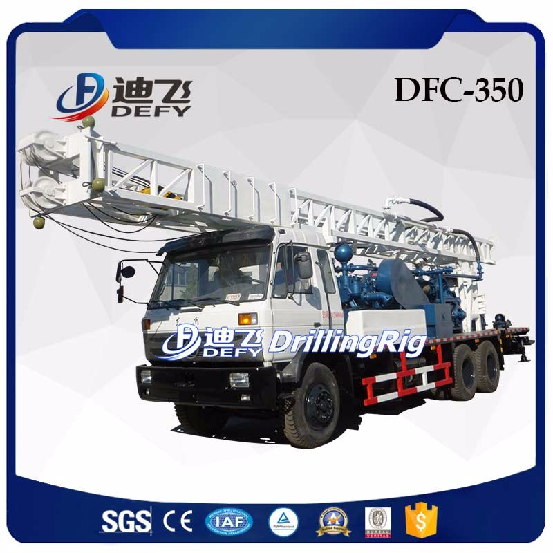 350m depth DFC-350 Truck mounted water drilling machine prices