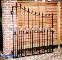antique free style main iron gate designs