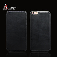 New simple look wallet style mobile phone leather case phone case