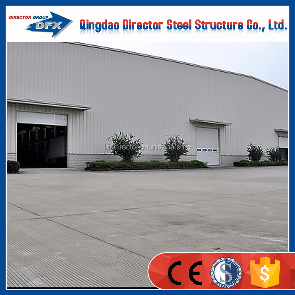 Weld h beam steel building steel structure prefabricated workshop building