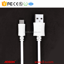 Micro-USB USB Type and Mobile Phone Use Micro USB 2.0 Data Cable Flat