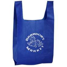 Foldable polyester shopping bag customized