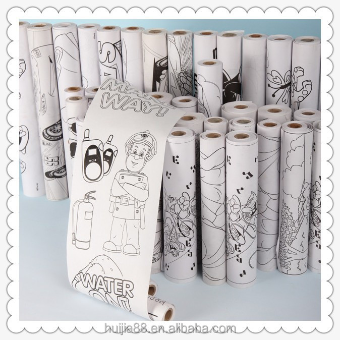 75*70 signle color white&black cartoon