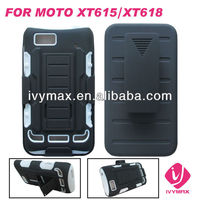 new product holster robort combo case for motorola xt615 xt618 phone case