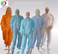 Top seller personal protective equipments disposable apparel non woven coverall