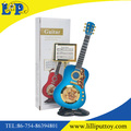 Lovely plastic guitar shape photo frame toy