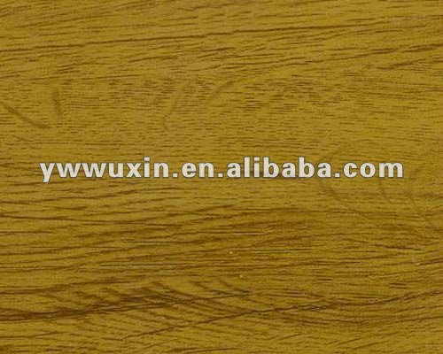 PVC heat transfer printing film with wood grain for WPC