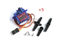 RC Hobby C25202 SG92R Micro Size 27x23x13mm Servo 0.10s 2.5kg-cm 4.8V for R/C Airplane
