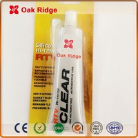 CLEAR RTV SILICONE GASKET MAKER NEUTRAL CURE/ACIDIC SILICONE SEALANT