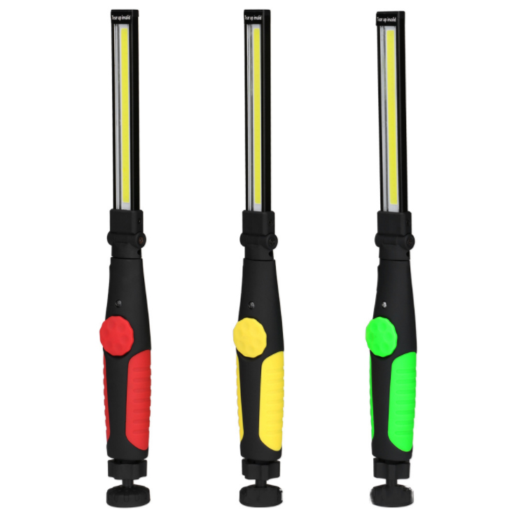 Multi-Functional USB Rechargeable portable magnetic Ultra Bright COB Magnetic Slim car Inspection Light led working light
