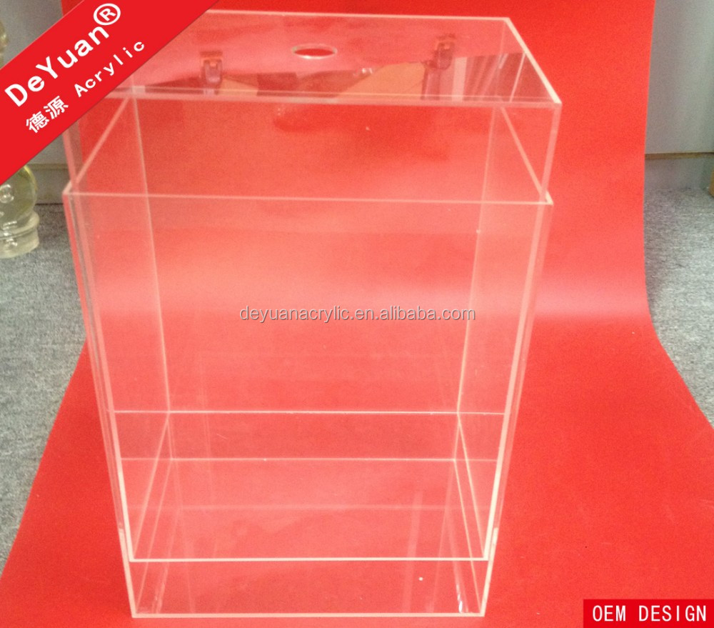 Acrylic shoe box airtight acrylic shoe display box