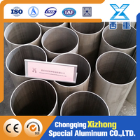Larg diamet aluminum Thick Wall Seamless Aluminum Alloy Hollow Pipe and Tube 6005 3mm