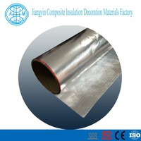 heat insulation material surface protection good tensile strength Double aluminum foil fibergless fabric