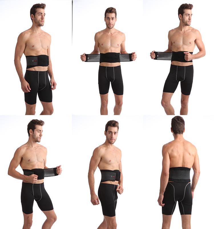 O menor preço S/M/L/XL tamanho vida diária dor nas costas cinto de suporte da cintura esportes