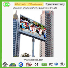 advertising led panel outdoor led wall 8000nits brightness