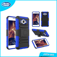 Online sales rubber silicone combo clip case for Samsung galaxy g5380