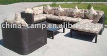 outdoor rattan furniture & rattan sofa set