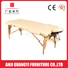 GM201-123 GuangYi white massage table bed,japanese folding table,massage table