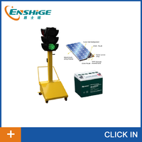 Experienced factory direct 200mm removable solar traffic light