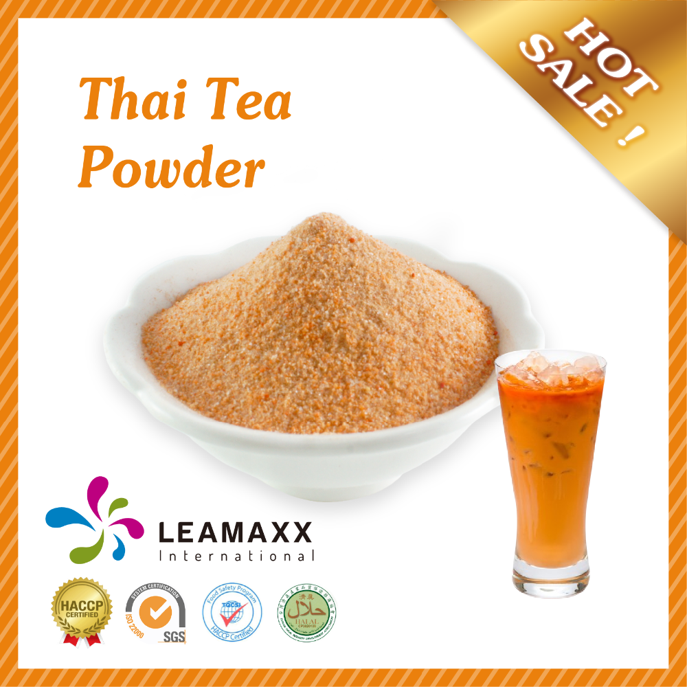 2017 Thai Tea Milk Powder with Halal for Bubble Tea Drink and Smoothie