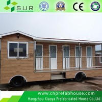 New Design! Luxury mobile toilet mounted on trailer for VIP