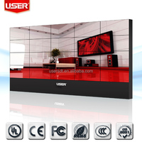 55 inch 3.8mm ultra narrow bezel commercial video wall