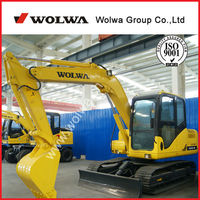 4WD wolwa small excavators for sale used excavator for sale canada DLS130