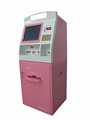 payment kiosk pink and white outdoor terminal multifunction kiosk automatic payment terminal