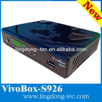 vivobox s926 digital satellite receiver full hd 1080p iks sks tv receiver 2013 hd fta receiver for nagra 3 decoder support wifi