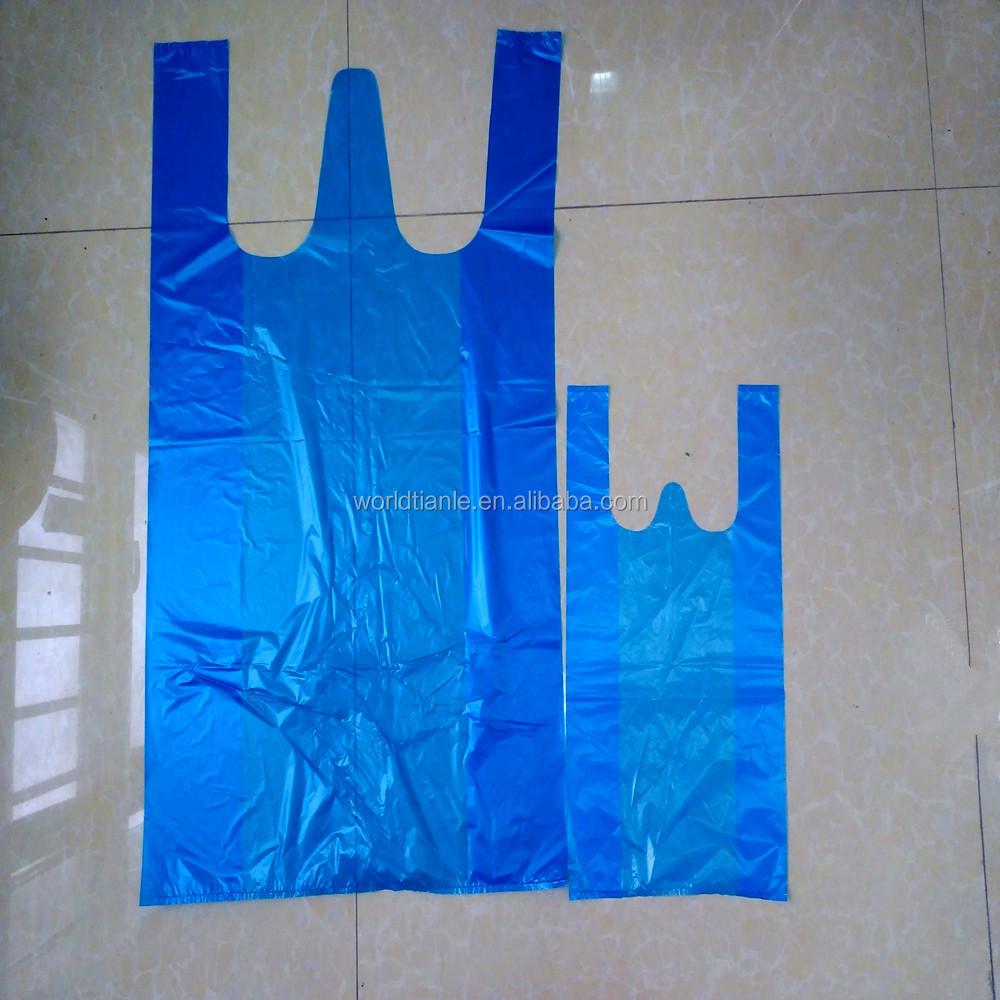 Pe jumbo t shirt bags 22 x12 x44 plastic shopping bags for Jumbo t shirt bags