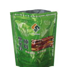 Oem colourful printed resealable plastic stand up pouches for food packaging