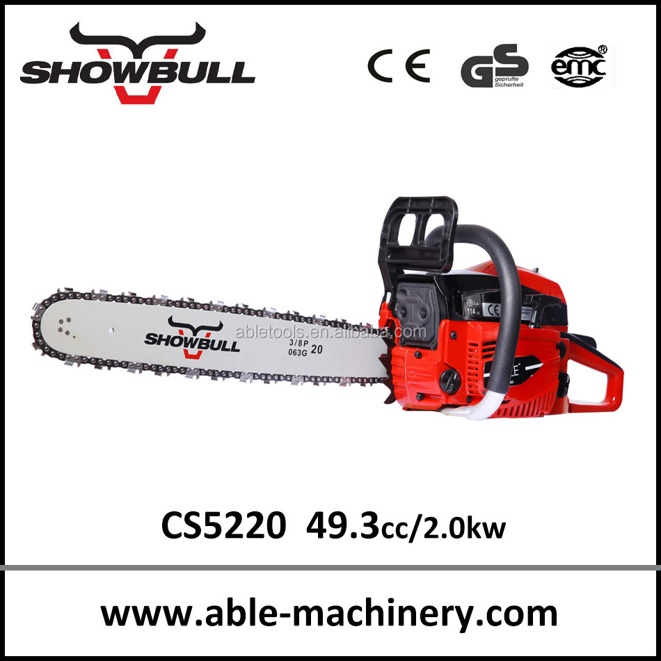power tool, tree cutting machine,gas chainsaw 5220