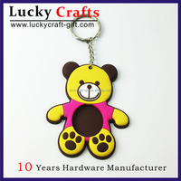 Business Gift Ideas Custom Rubber Keychain For Promotion
