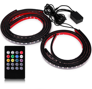 Hot popular Sound control car atmosphere lamp decoration lamp music control led rgb lamp with control