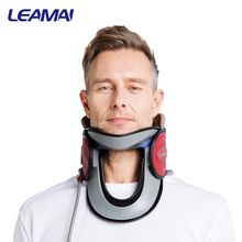 inflatable cervical neck traction collar for neck cancer