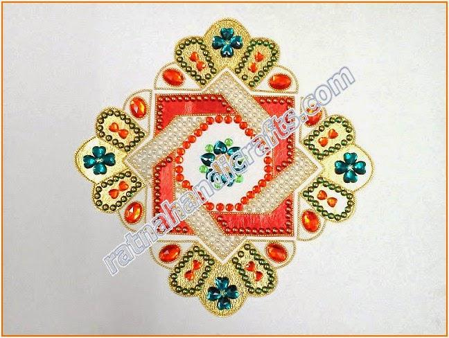 Rangoli Arylic High Quality Indian Handicrafts