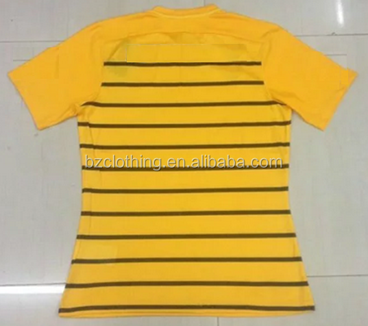 2016 Boca Juniors Away Yellow Best Thailand Quality Soccer Jerseys