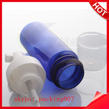 high quality hand pressure cleaning foam spray bottle with transparent cap
