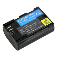 New Digital Video Battery 1800mAh Li-ion Extra Power for Canon LP-E6 5D Mark II 7D