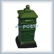 Colorful Hand made paysage, 15 * 15 * 35 mm <span class=keywords><strong>modèle</strong></span> architectural postbox, Pour le <span class=keywords><strong>train</strong></span> disposition