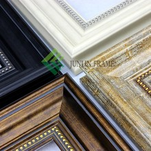 2015 wholesale wood-like ps mirror photo picture frame moulding