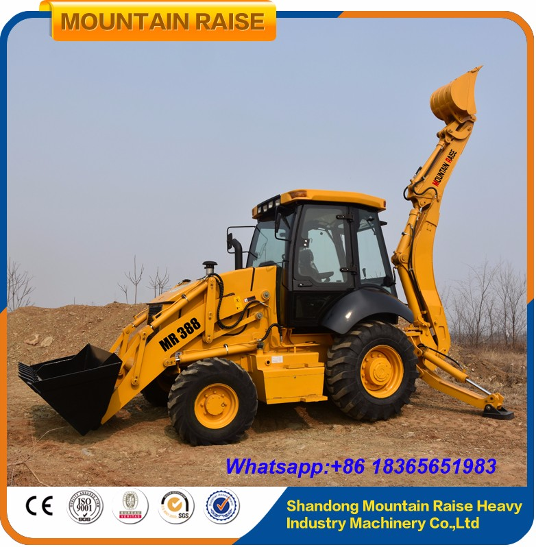 Factory Directly Sales WZ388 Chinese Backhoe Loader Price