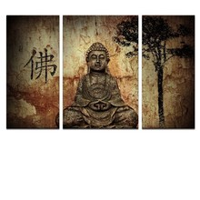 Arts and Craft Buddha Home Goods Wall Art Canvas Painting
