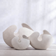 Ceramic vase creative modern fashion white eggshell vase