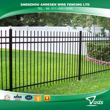 professional factory palisade welded fence used in farm