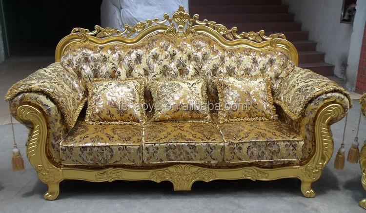 Royal sof mobilia della stanza golden dubai design for Mobilia divani